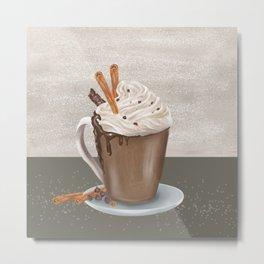 Fall cocoa Metal Print