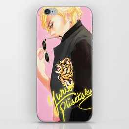 tiger baby iPhone Skin