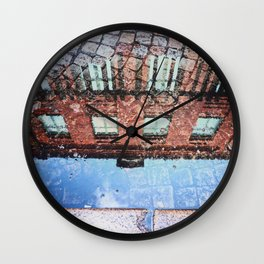 City Reflections Wall Clock