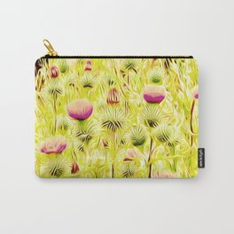 Vintage Thistles Carry-All Pouch