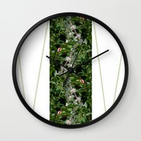 valar morghulis Wall Clocks featuring Valar Sīmonagon by Vagrant