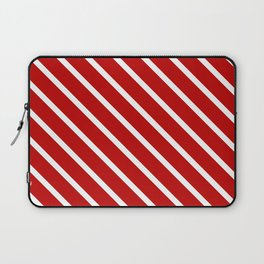 Chilli Diagonal Stripes Laptop Sleeve