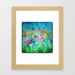 Summer Breeze  Framed Art Print