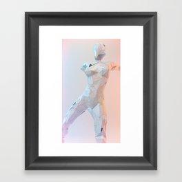 ORIGAMI v1 Framed Art Print