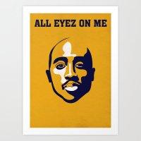 All Eyez On Me Alternative Art Art Print
