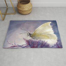 Dancing With Moonlit Wings Rug