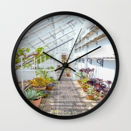 The Lost Gardens of Heligan - Victorian Glass House 2 Wall Clock