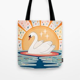 The stream of love Tote Bag
