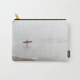 Contemplating Waves Carry-All Pouch