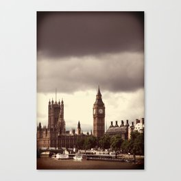Sherlock Lives Canvas Print