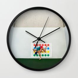 """""""Twisted Sister"""" Wall Clock"""