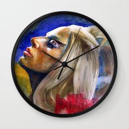 Woman in Music II Wall Clock