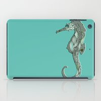 seahorse iPad Cases featuring Seahorse by Rachel Russell