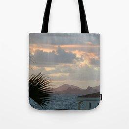 Sunrise over St. Barths Tote Bag