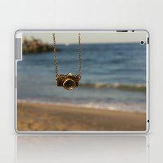 Camera over the ocean Laptop & iPad Skin