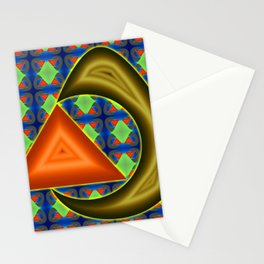 Absorbing triangle ... Stationery Cards