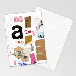 Paper Trail I  Stationery Cards
