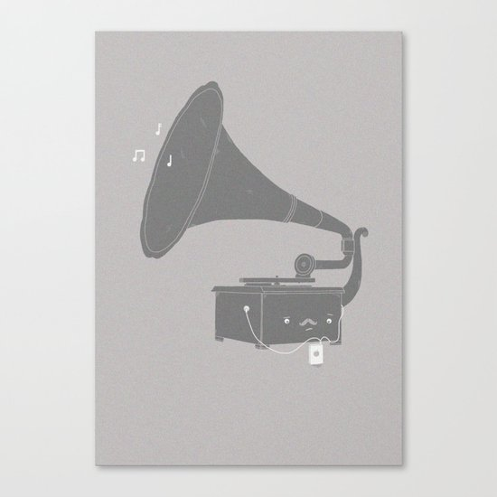 Get with the times Canvas Print