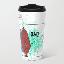 Bad News Bear Travel Mug
