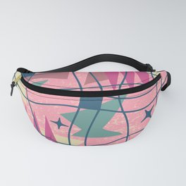 Mid Century Modern Abstract Pattern 413 Fanny Pack