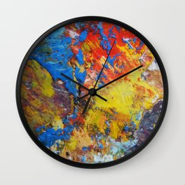 THE PAINTER Wall Clock