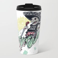 livin la vida loca Metal Travel Mug