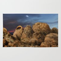 alabama Area & Throw Rugs featuring Alabama Hills. by alex preiss