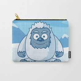 Cute Yeti Cartoon Character Carry-All Pouch