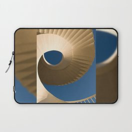 bottom view at twisted stairs Laptop Sleeve