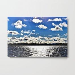 Water | Lake Ontario | Landscape | Toronto | Nadia Bonello Metal Print