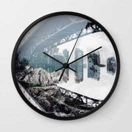 density x exclusion Wall Clock