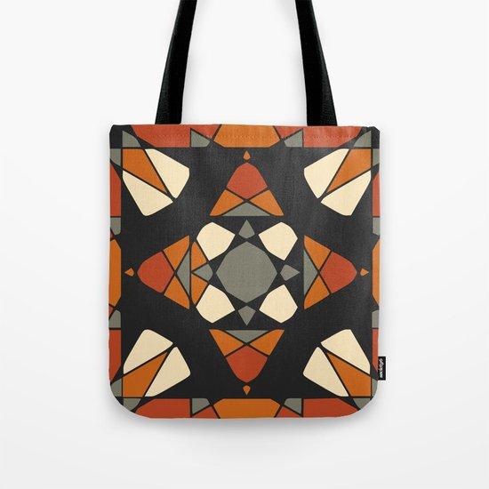 Mandala earth colors Tote Bag