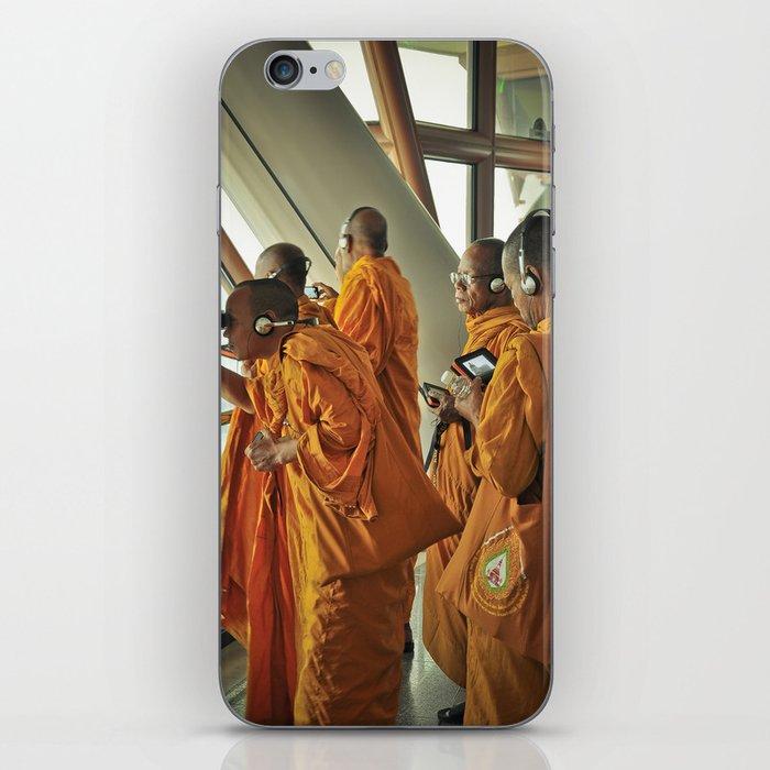 Hi-tech Monks iPhone Skin
