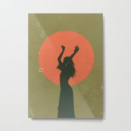 Sun Goddess Metal Print