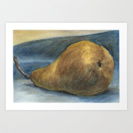 Another Bosc Pear Art Print