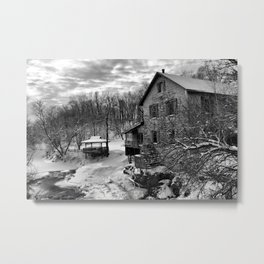 Costello's Mill Metal Print