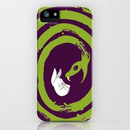 Decaying Snake iPhone Case
