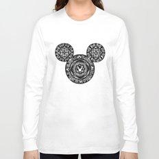 Mickey Mouse Mandala Long Sleeve T-shirt