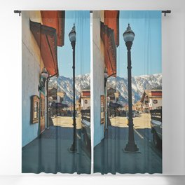 Sunny day in Leavenworth Blackout Curtain