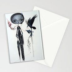 gothic kebaya Stationery Cards