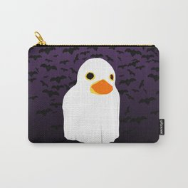 Fuzzy Duck Ghost Carry-All Pouch