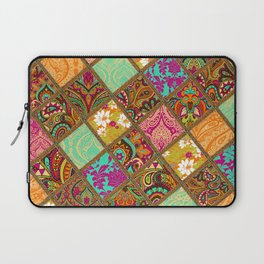 Patchwork Paisley Laptop Sleeve