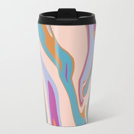 Marbleized 3 Travel Mug
