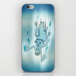 Blue Turquoise iPhone Skin