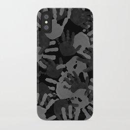 evidence v2: nite camo iPhone Case