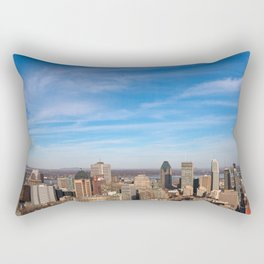 Montreal Skyline Rectangular Pillow