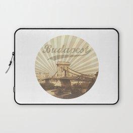 Budapest, vintage Laptop Sleeve