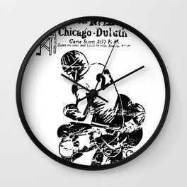 Chicago-Duluth-Radio Wall Clock