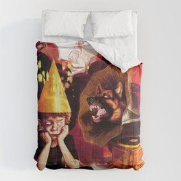 Silent Treatment Comforters