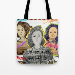 (Black Girl Power - Hidden Figures) - yks by ofs珊 Tote Bag
